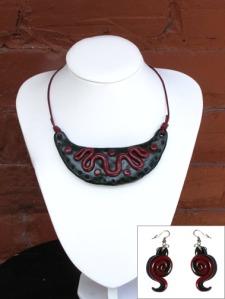 collier maya et b-o