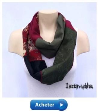 foulard infini bohème